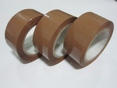 Bapna Single Sided 48 mm x 130 mtr Medium Packing Tape Brown Tape (Manual)