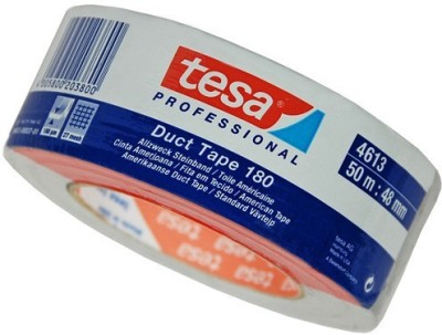 Tesa SINGLE SIDED 48mm x 50mtr 48mm x 50mtr HANDHELD Duct Tape (Easy to tear by hand)