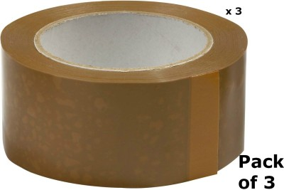 EZPACK Single Sided 200 Meter 48 mm Packing Tape Packing Tape, Ecommerce Sellers, Brown Tape (NA)