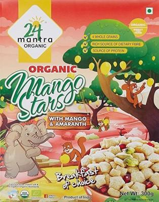 24 Mantra Cornflakes Flake Cereal(Mango & Amaranth)