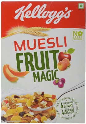 Kellogg's Muesli Original Grain Form Cereal(Fruit Magic)