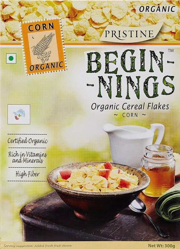 Pristine Cornflakes Flake Cereal(Begining Organic Cereal (no Added sugar))