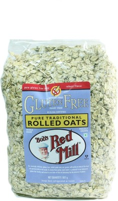 Bob's Red Mill Rolled Oats Original Grain Form Cereal