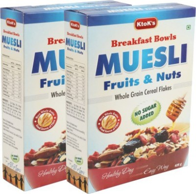 KtoKs Breakfast Bowls Muesli Flake Cereal
