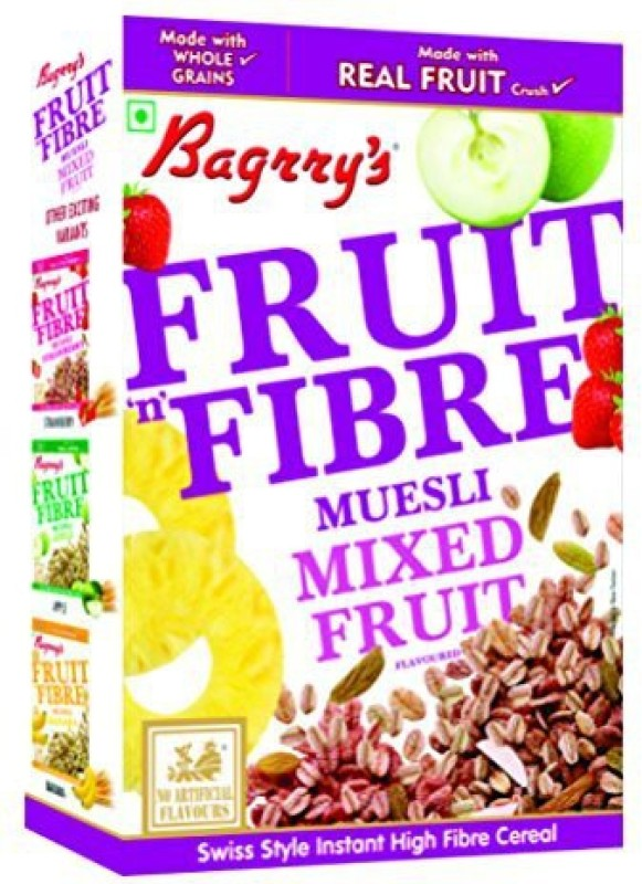 Bagrry's Muesli Flake Cereal(Fruit n Fiber Mixed Fruit)