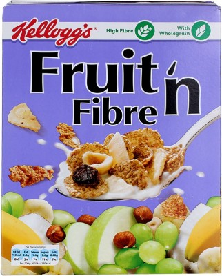 Kellog's Whole Grain Wheat Flake Cereal(Fruit n Fibre)