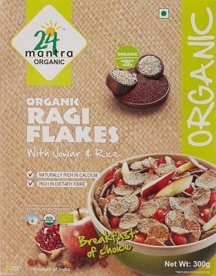 24 Mantra Cornflakes Flake Cereal(Ragi)