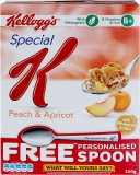 Kellog's Wheat Cereal Flake Cereal (Peac...