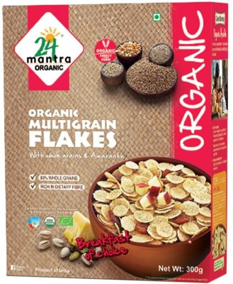 24 Mantra Cornflakes Flake Cereal(Multigrain)