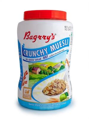 Bagrrys Muesli Flake Cereal(No Added Sugar 1000 gm)