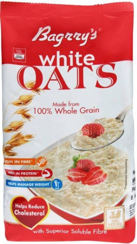 Bagrry's Oats Flake Cereal(White)