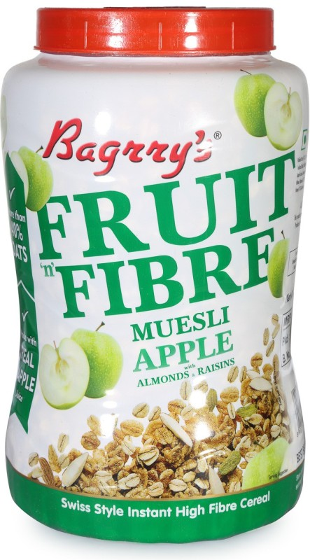 Bagrry's Muesli Granular Cereal(Almonds, Raisins, Apple)