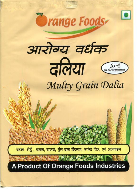 orange foods Cracked Wheat Granular Cereal(Masala)
