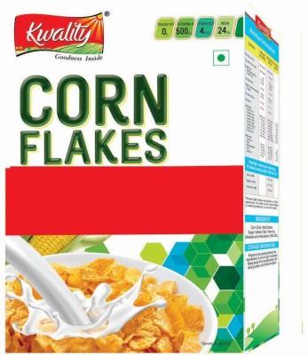 Kwality Cornflakes Flake Cereal(Kwality Corn Flakes 375 gm)
