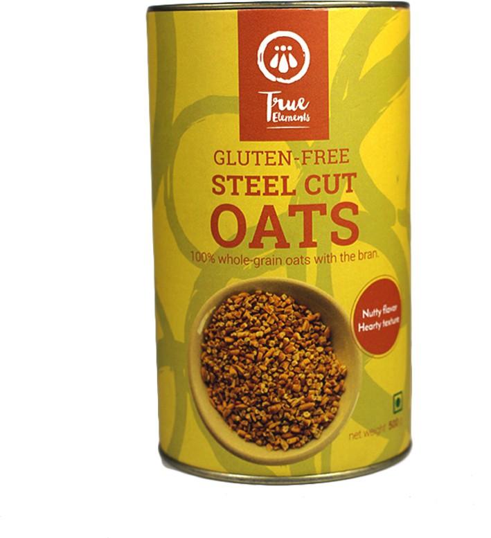 True Elements Oatmeal Original Grain Form Cereal