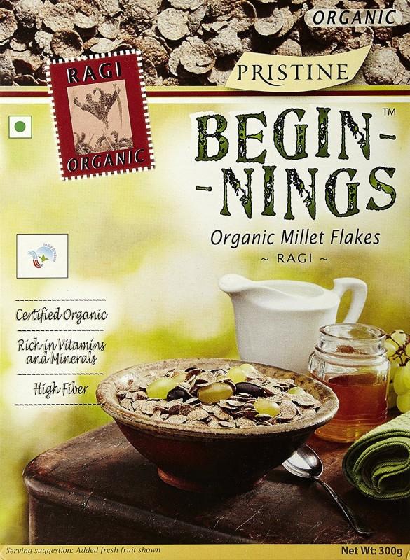 Pristine Ragi Flake Cereal(Begining Organic Millet)