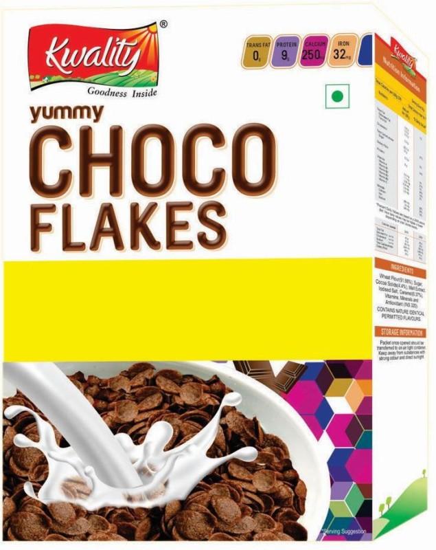 Kwality Cornflakes Flake Cereal(Kwality Choco Flakes 375 gm)