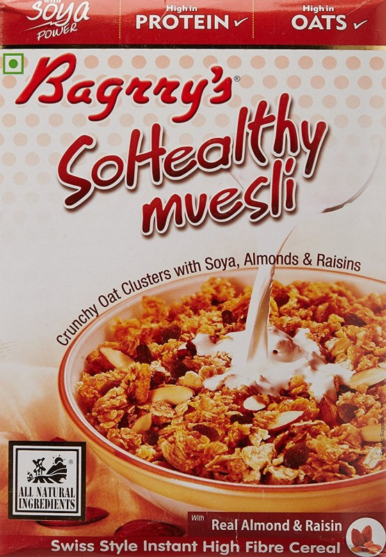 Bagrry's Muesli Flake Cereal(So Healthy)