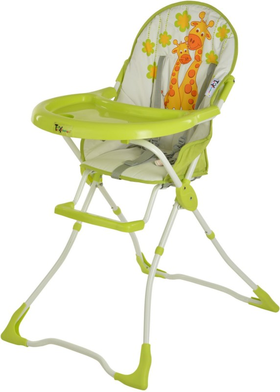 Toyhouse Baby High Chair-Giraffe(Green)