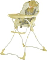 Toy House Baby High Chair-Bear(Beige)