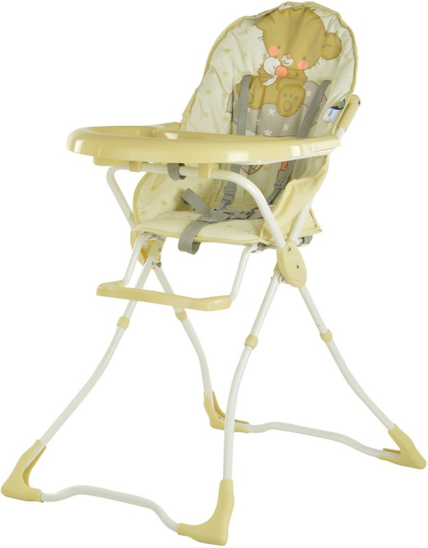 Toyhouse Baby High Chair-Bear(Beige)