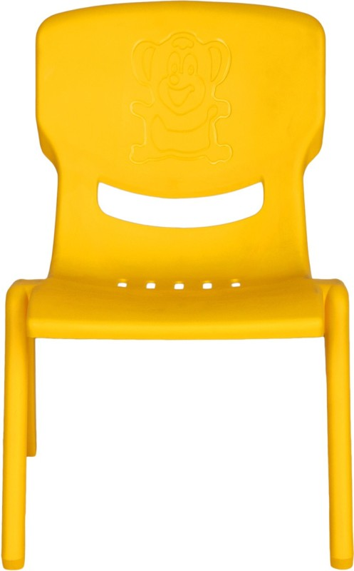 Abhiyantt Little Ginie Baby Chair(Yellow)