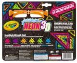 Crayola Crayola 3-D Neon Washable Sidewa...