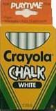 Crayola White Chalk writing board chalk ...