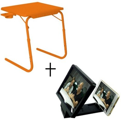 TABLE MATE Tablemate Adjustable Portable Folding Laptop Kid Study With 3d screen Enlarge Orange Changing Table
