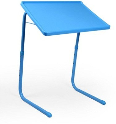 POSH OFFER Adjustable Portable Folding Study Laptop Table With Cup Holder advance type. Blue Changing Table