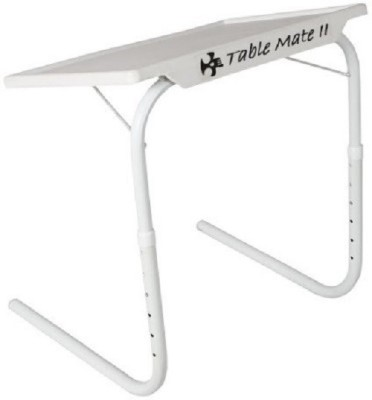 Tuzech Table Mate 2 ( Dinner/laptop/ StudyTable) White Changing Table