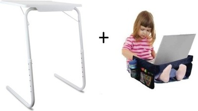 IBS TableMate Adjustable Portable Folding Study Laptop Cupholder Kids Reading Snacks With Play N Snack Travel Organiser Tray White Changing Table