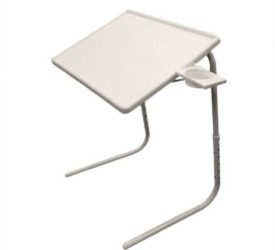MSE Adjustable Portable Study Laptop-21 White Changing Table