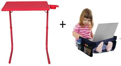 IBS TableMate Adjustable Portable Folding Study Laptop Kids Reading Snacks With Play N Snack Travel Organiser Tray Red Changing Table