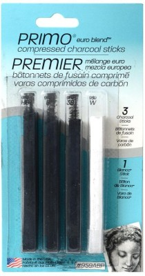 General's Compressed Charcoal Assorted Stick
