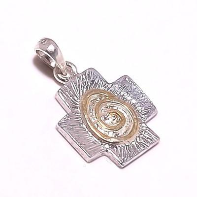 Kirti Gems Unused Silver Floating Charm