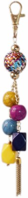 VR Designers Springcolor Beads Metal, Plastic, Fabric Beaded Dangling Charm
