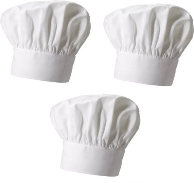 Legasea Chef Cap - Pack of 3 Chef Hat