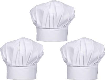 Legasea Chef Cap - Pack of 3 Chef Hat( )