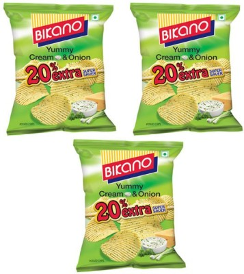 Bikano Cream onion Chips