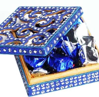 Ghasitaram Gifts Sugarfree Blue Shining Box Chocolate Bars