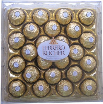 Ferrero Rocher 24 Pcs Chocolate Truffles(Pack of 1, 300 g)