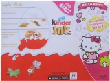 Kinder Joy For Girls 24 Pcs Chocolate Tr...