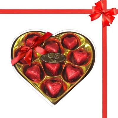 Chocholik Legend Heart Shape Nicely Wrapped Chocolate Truffles