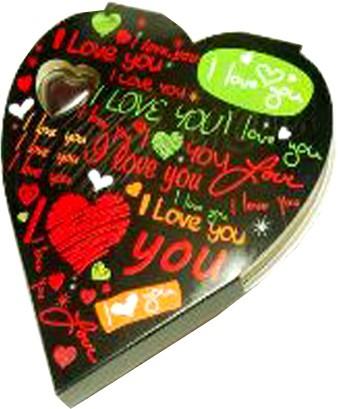 Ghasitaram Gifts Heart Box Chocolate Bars