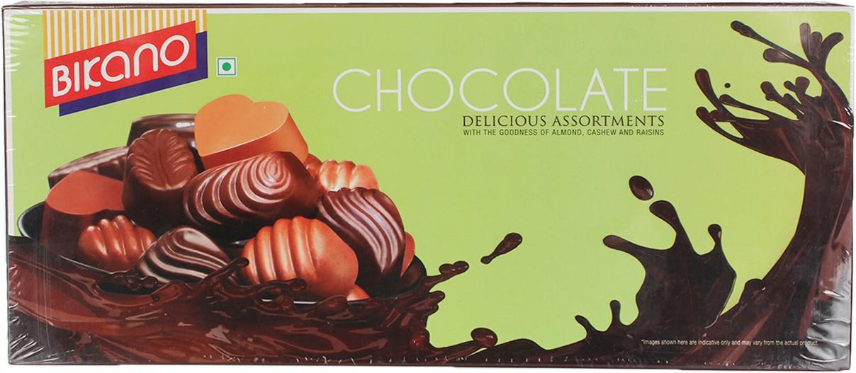Bikano Delicious Assortments Chocolate Bars