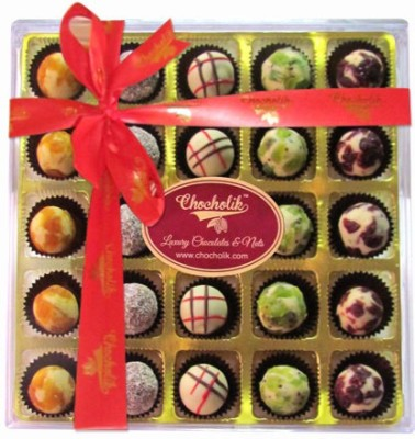 Chocholik Wow Combination Of Truffles of Indian Premium Flavored Exclusive Range Chocolate Truffles