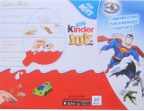 Kinder Joy For Boys 24 Pcs Chocolate Tru...