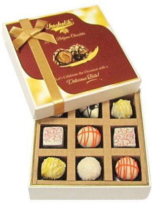 Chocholik Sparkling Box Chocolate Truffles