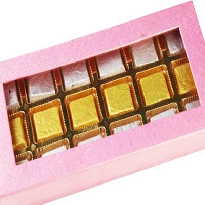 Ghasitaram Gifts Sugarfree Pink Assorted Box Chocolate Bars